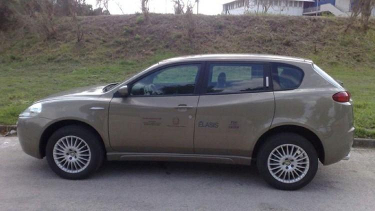 Концептуалният Alfa Romeo Kamal от 2003 година
