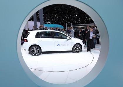 Volkswagen e-Golf на изложението IAA във Франкфурт