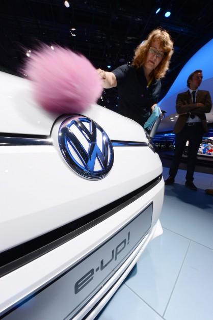 Volkswagen e-up! на изложението IAA във Франкфурт