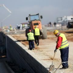 Строителството с ръст от 5.1% за януари