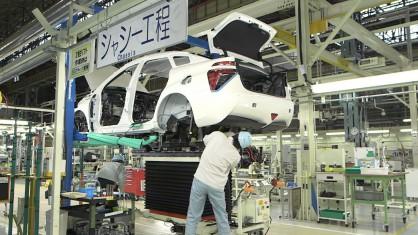 Toyota показа как се произвежда водородния модел Mirai