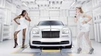 Rolls-Royce показа вдъхновен от модата Wraith (снимки)