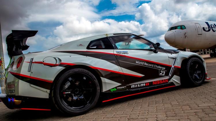 Nissan GT-R Nismo постави световен рекорд по високоскоростно дрифтиране