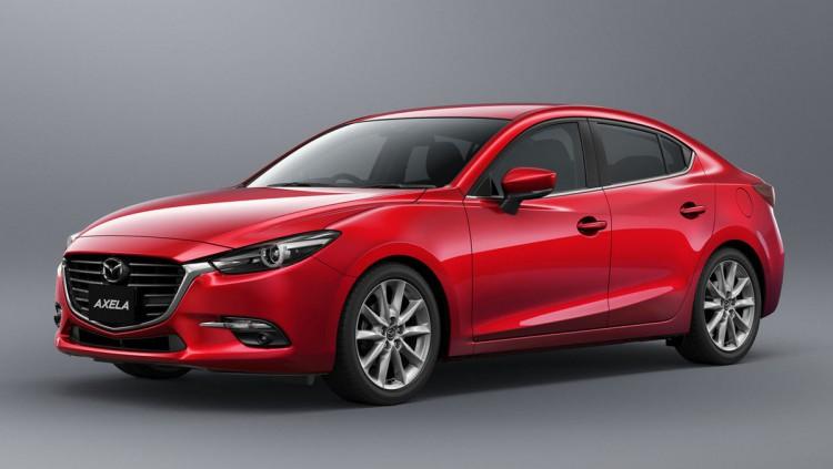 Настоящата генерация на Mazda3