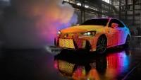"""Lexus представи """"светещ"""" IS (видео)"""