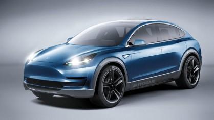 Така ще изглежда Tesla Model Y, според Autocar