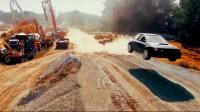 Дрифт шоу със старо Subaru Impreza (видео)