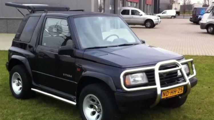 Suzuki Vitara постигна култов статус още преди 25 години