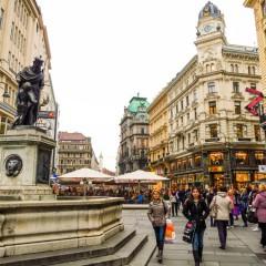 Изглед от центъра на Виена