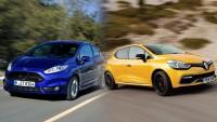 Кой е по-бърз - Fiesta ST или Clio RS (видео)