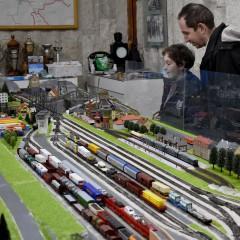 Атракцион с мини влакове в Пловдив