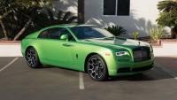 Насладете се на този спортен и зелен Rolls-Royce (снимки)