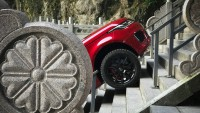 Land Rover изкачи 999 стълби
