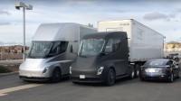 Tesla ползва електрическия си камион за доставки на Model 3