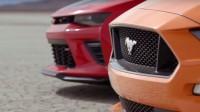 Ford Mustang и Chevrolet Camaro мерят мускули в пустинята