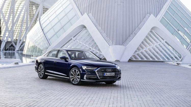 Новото Audi A8
