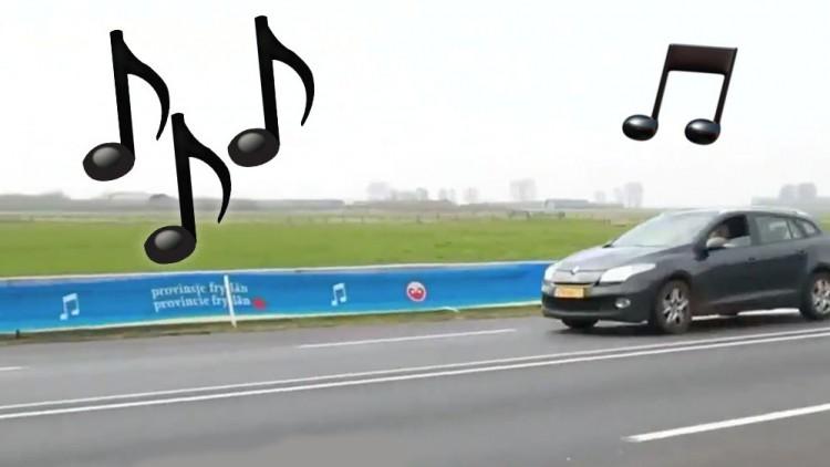 пеещият път дразнел шофьорите с еднообразните си звуци