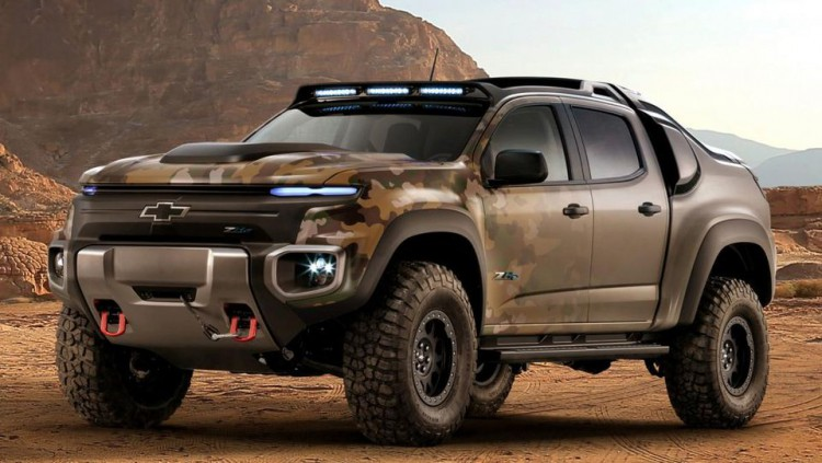 Военният SUV на GM