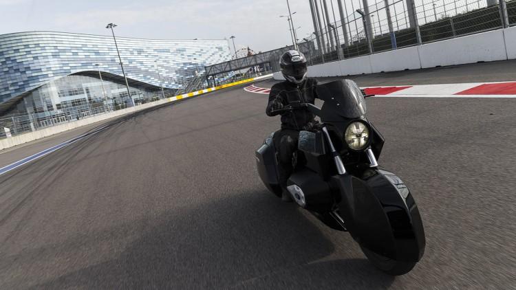 Мотоциклетът на Калашников