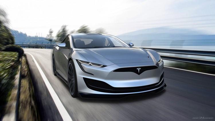 Next-Gen Tesla Model S by Emre Husmen