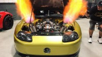 Чуйте звука на Toyota Supra с 2500 к.с.