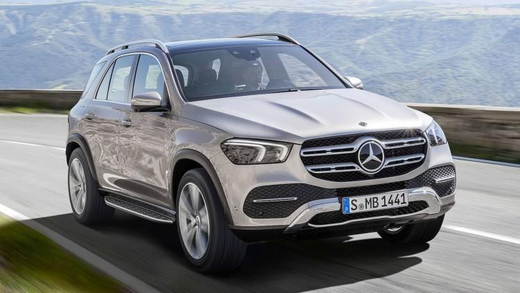 Новият Mercedes-Benz GLE