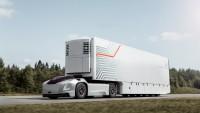 Volvo показа безпилотен камион