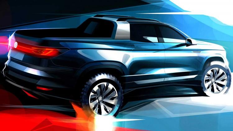 Новият пикап на VW