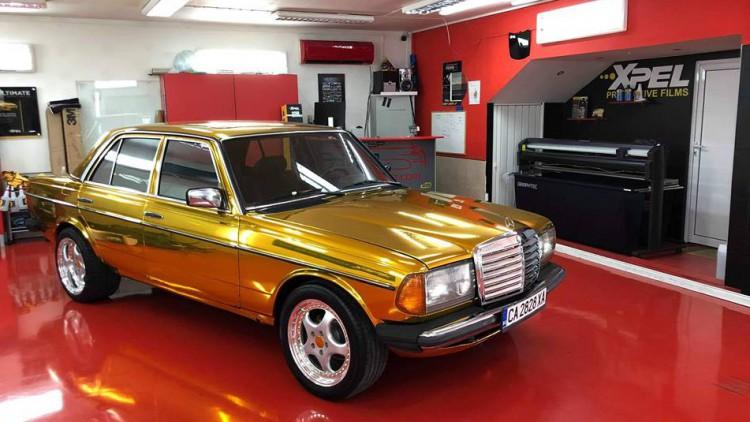 Златният Mercedes-Benz W123