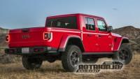 Изтекоха официални снимки и на новия пикап Jeep