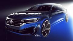 Volkswagen показа новия Passat<br /> 3 снимки
