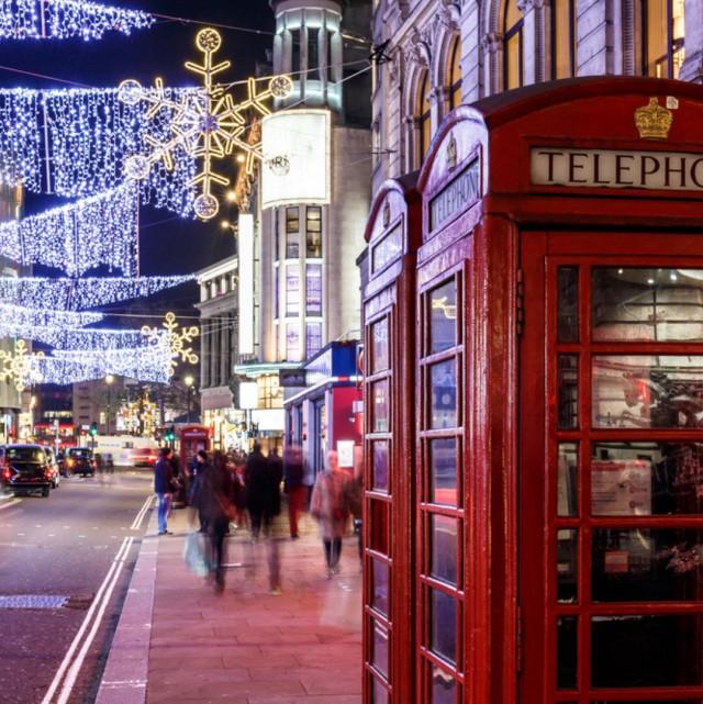 Лондон е с най-красива коледна украса
