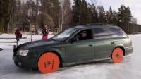 Финландец замени гумите с триони