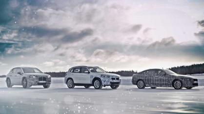 BMW iX3, BMW i4 & BMW iNEXT