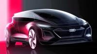 Audi вади горещ електро хечбек със задно задвижване