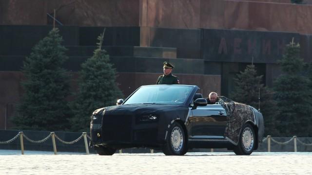 Това е новият параден кабриолет на Русия (видео)