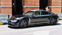 Шпионски снимки разкриха Porsche Taycan