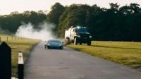 """Спектакълът """"КамАЗ"""" срещу Lamborghini (видео)"""