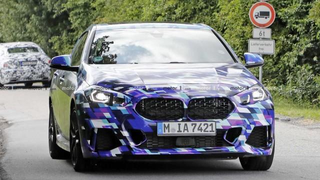 Заснеха BMW 2 Series Gran Coupe в камуфлаж