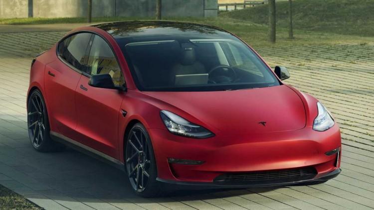 Tesla Model 3 by Novitec