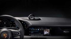 Porsche разкри интериорът на първия си електромобил<br /> 1 снимки