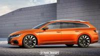 VW ще превърне Arteon в луксозно комби