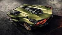 Lamborghini Sian впечатли лондончани