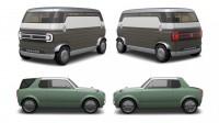 Suzuki паказа две ретро-футуристични концепции