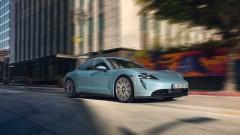 Porsche показа по-достъпен електромобил Taycan 4s<br /> 11 снимки