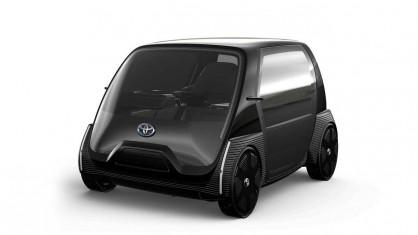 Toyota BЕV във версия мобилен офис