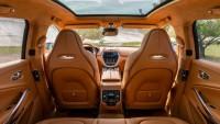 Първa снимкa от интериора на Aston Martin DBX