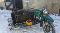 Руснаци монтираха двигател от Лада на мотоциклет