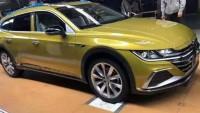 Първи снимки на комбито Volkswagen Arteon