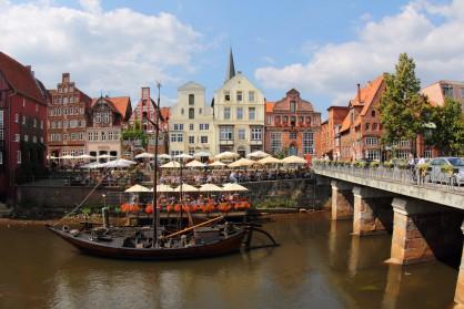 През Средновековието град Люнебург на река Илменау е бил най-големият доставчик на сол за цяла Северна Германия